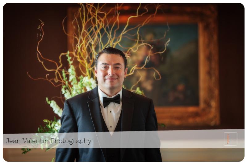 groom portrait at Trump National Golf Club