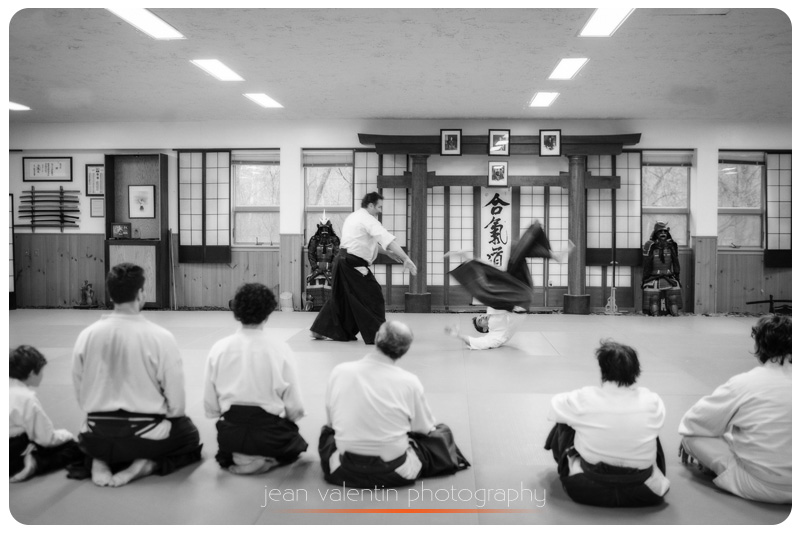 aikido trow for defense