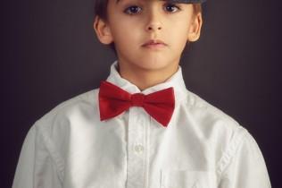 fine art portrait of preppy boy