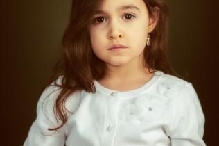 fine art portrait of girl