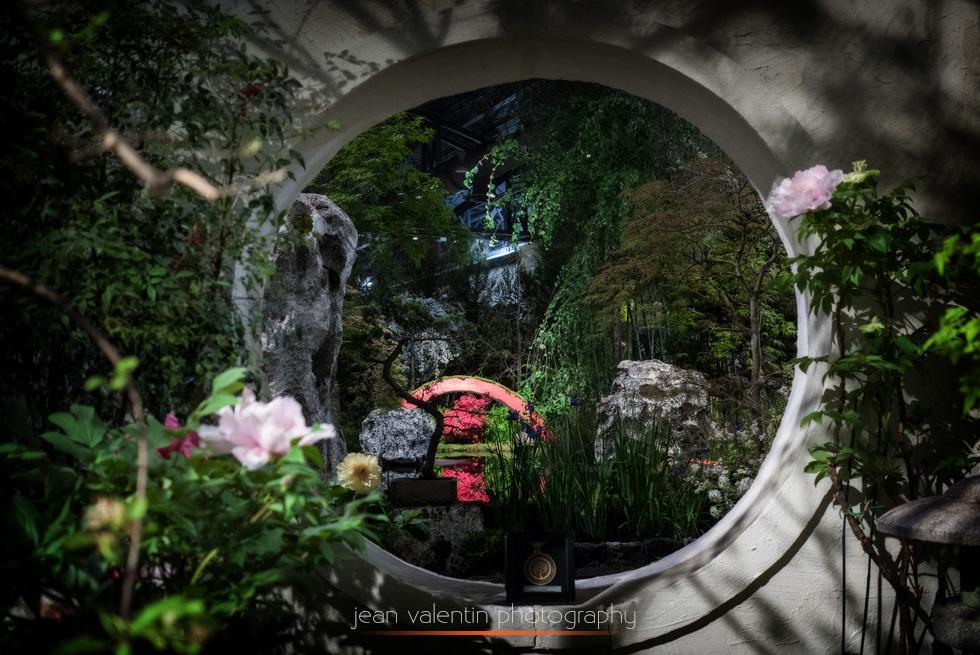 Zen Japanese Garden at Philadelphia Flower Show