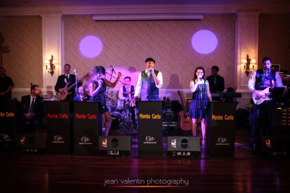 EBE Entertainment band at wedding at Rivercrest Country Club in Phoenixville